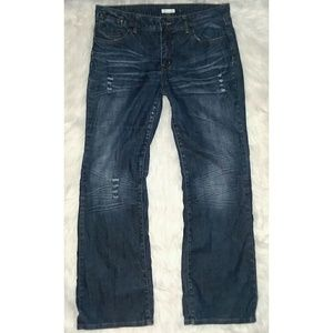 Cato Flare Blue Jeans